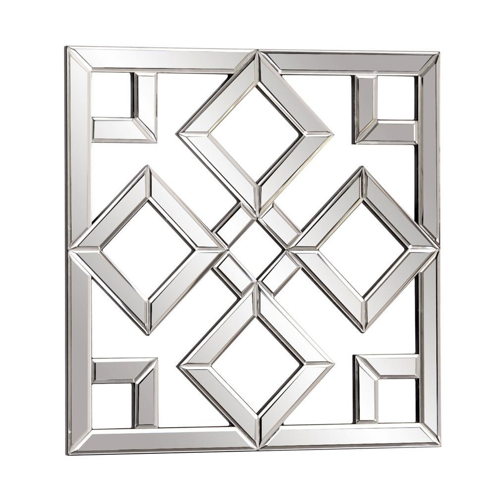 Interlocking Mirrored squares with Lattice Design - 383723. Picture 3