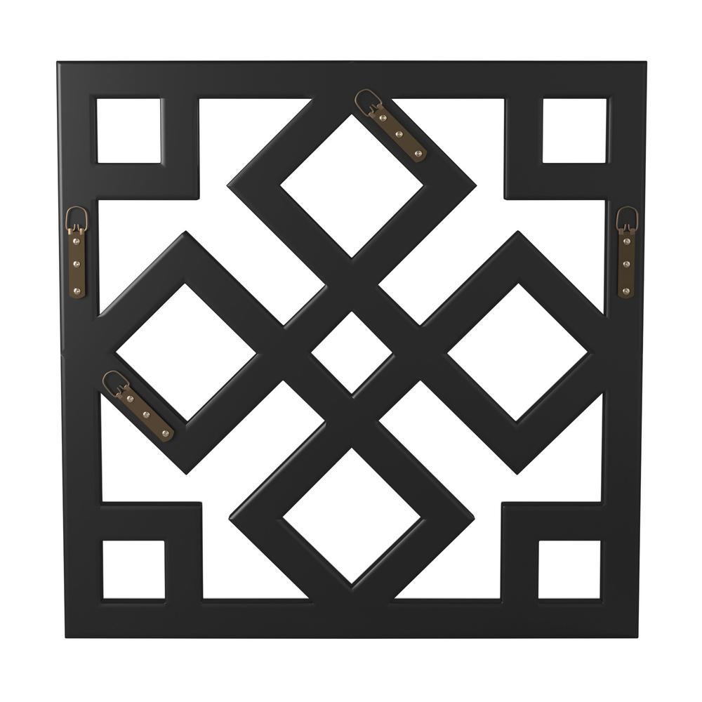 Interlocking Mirrored squares with Lattice Design - 383723. Picture 5