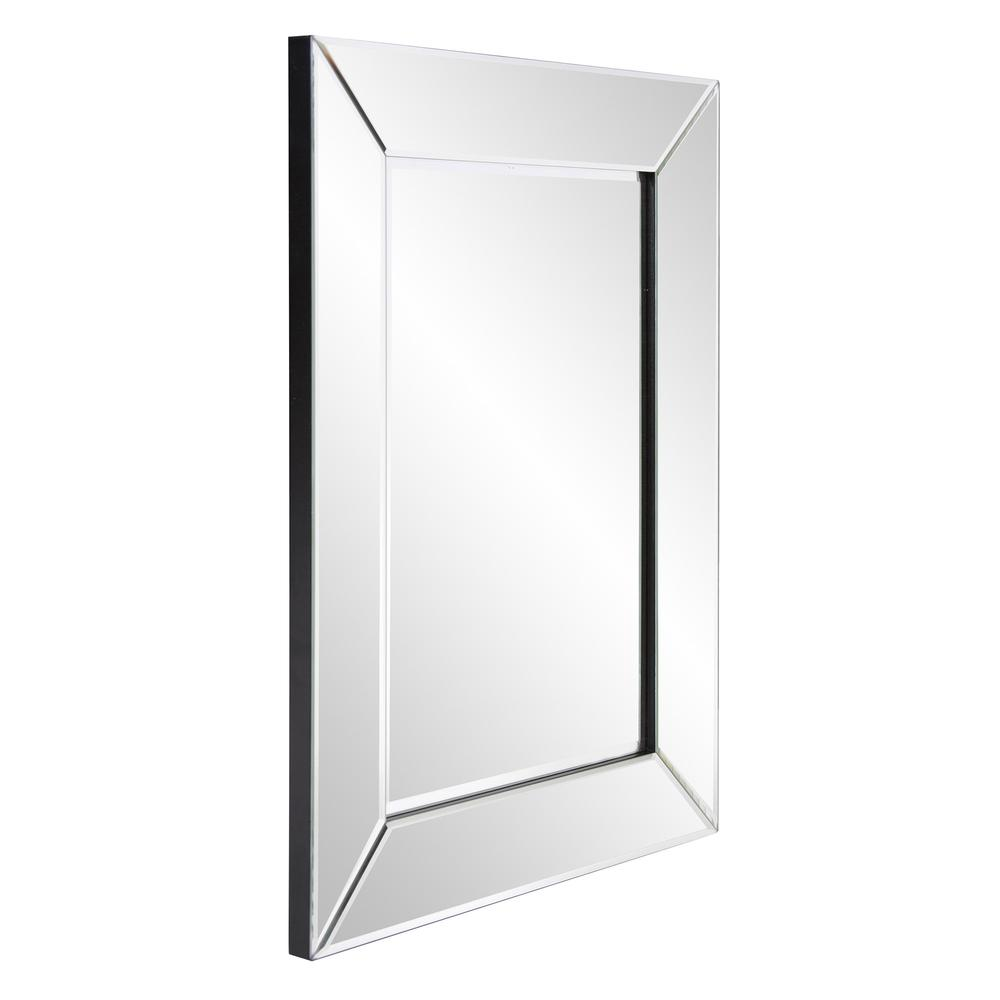 Rectangle Frame Mirror with Mirrored Finish And Beveled Edge - 383730. Picture 3
