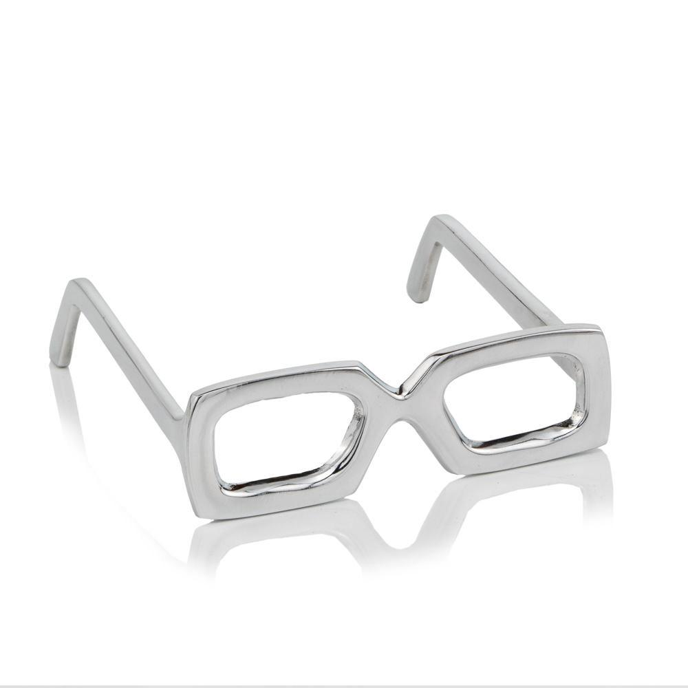 Silver Aluminum Glasses display in Shiny Smooth Finish  Decorative Table Top - 383782. Picture 1