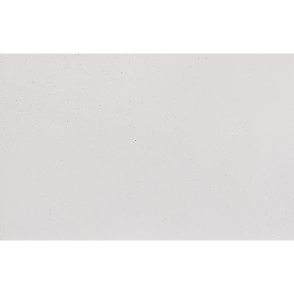White Toned Mirror with Large Rectangular High Gloss Trim - 383986. Picture 4