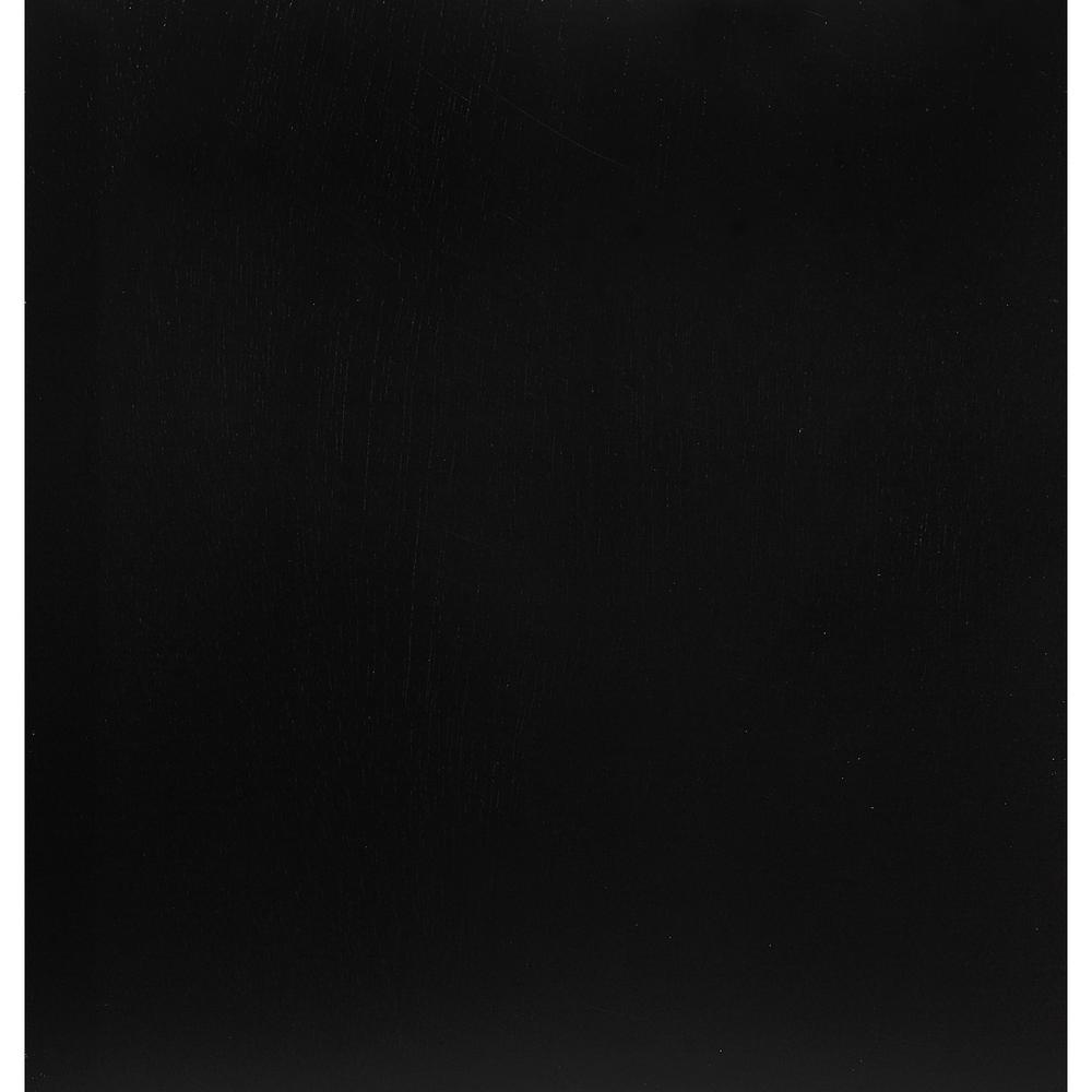 Black Mirror with Rectangular Sleek Wood Trim - 384018. Picture 4