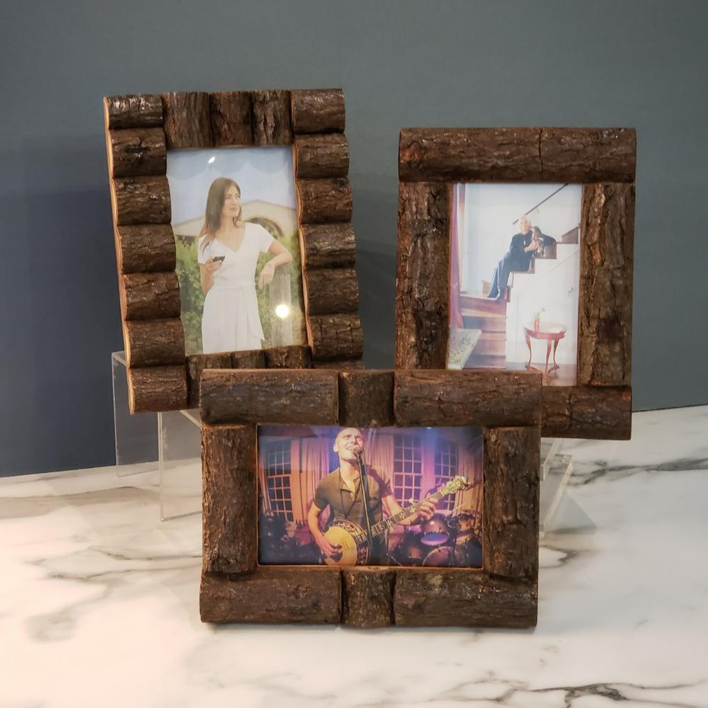 Log Cabin Style Picture Frames - 384103. Picture 2