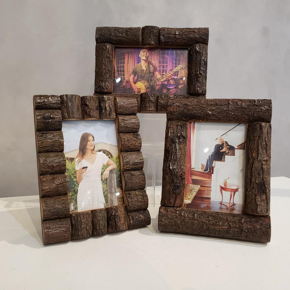 Log Cabin Style Picture Frames - 384103. Picture 3