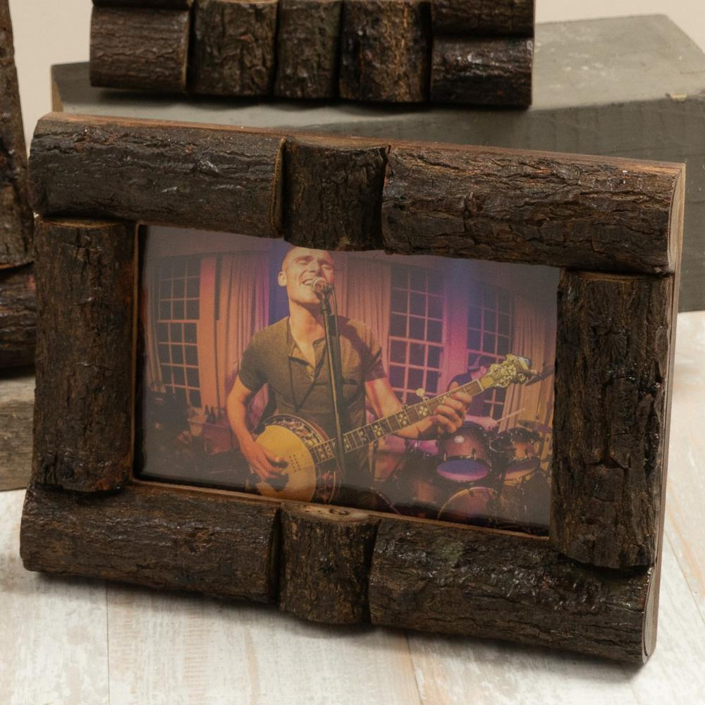 Log Cabin Style Picture Frames - 384103. Picture 4