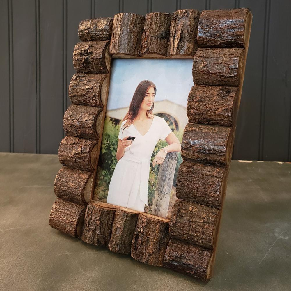 Log Cabin Style Picture Frames - 384103. Picture 5