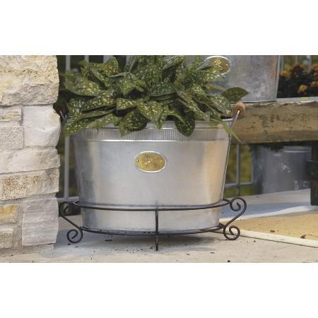 Bumble Bee Oval Stainless Steel Galvanized Beverage Tub - 384107. Picture 3