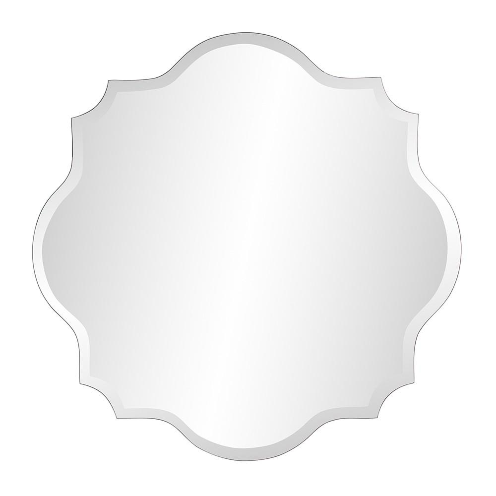 Frameless Scalloped Wall Mirror - 384186. Picture 4