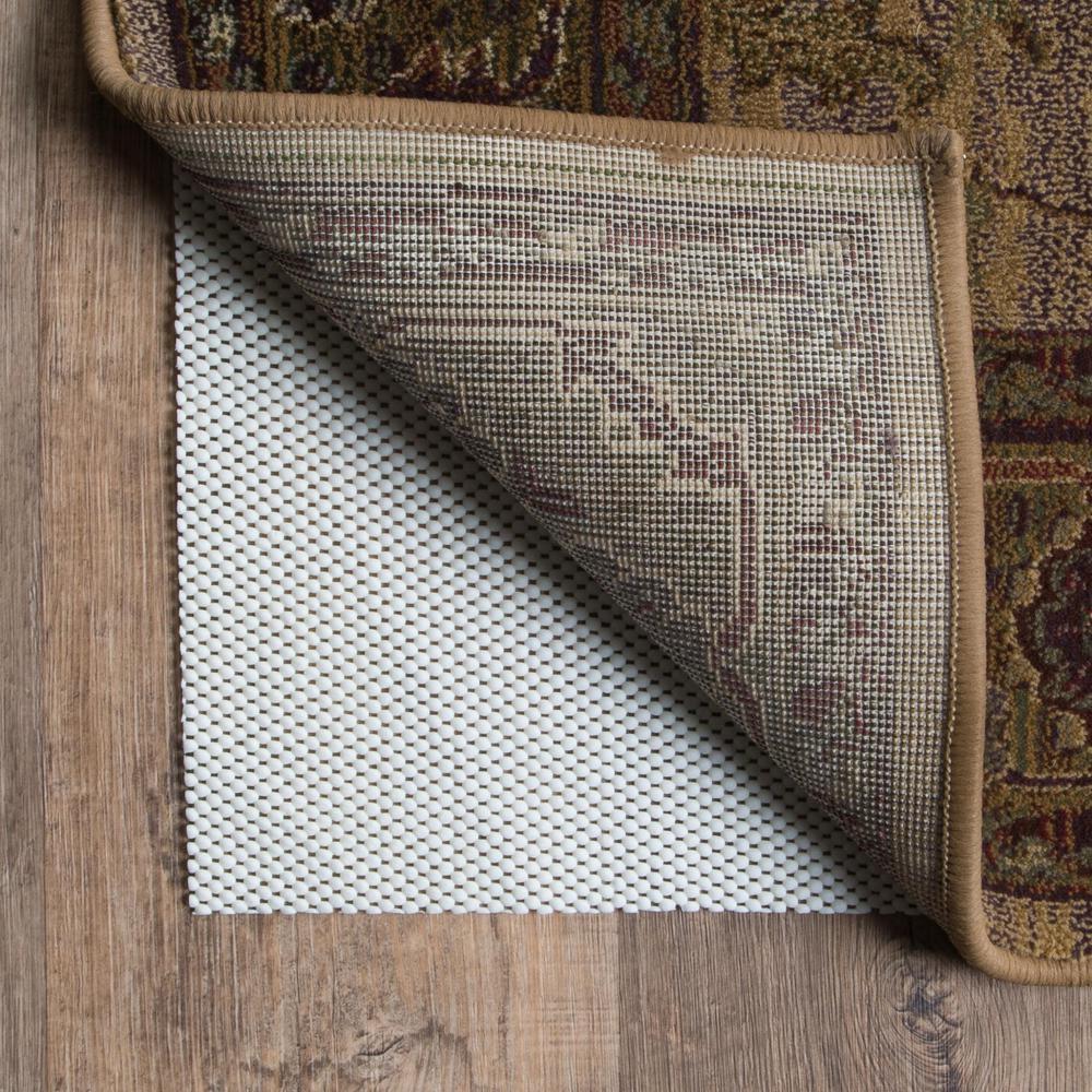 10' x 13' Beige Non Slip Rug Pad - 384357. Picture 3