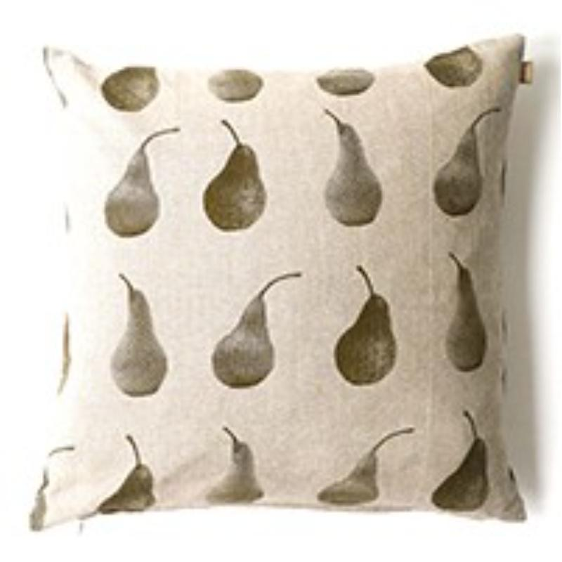 Set of 2 Sepia Multi Pears Decorative Accent Pillows - 384419. Picture 1