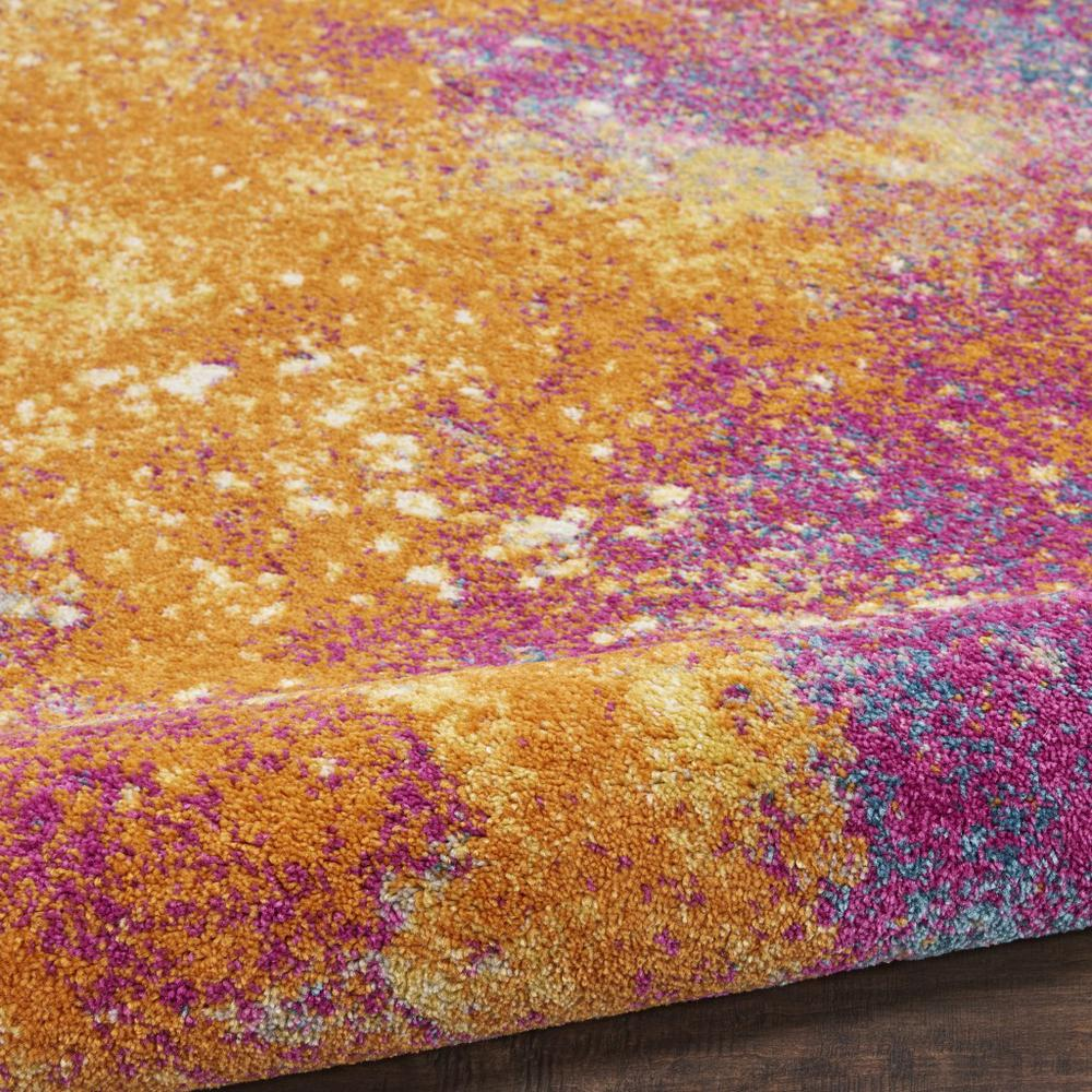 2' x 8' Abstract Brights Sunburst Runner Rug - 385376. Picture 3