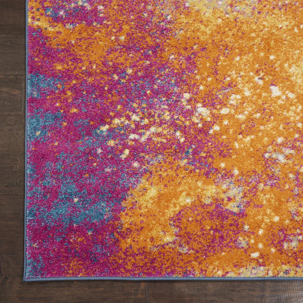 7' x 10' Abstract Brights Sunburst Area Rug - 385381. Picture 2