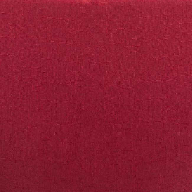 Red Plush Armless Rolling Office Chair - 385449. Picture 6