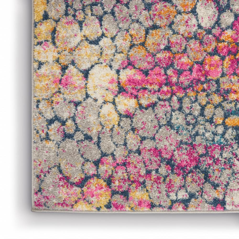 5' x 7' Yellow and Pink Coral Reef Area Rug - 385664. Picture 7