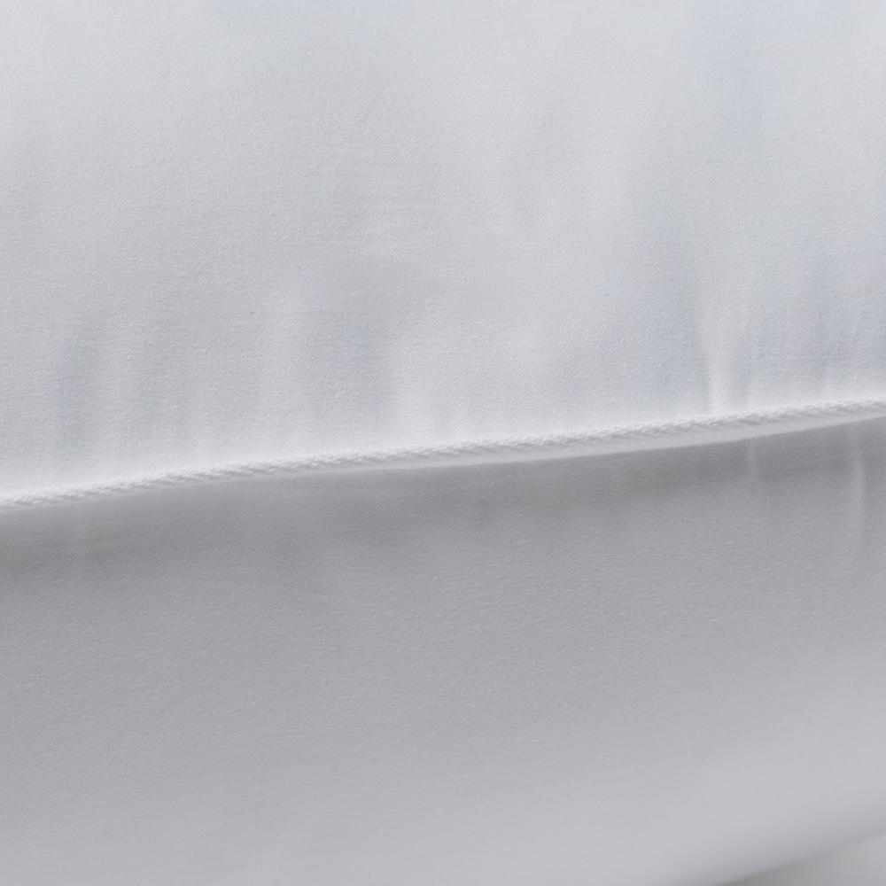 Set of 2 Lux Sateen Down Alternative Queen Size Medium Pillows - 387819. Picture 2