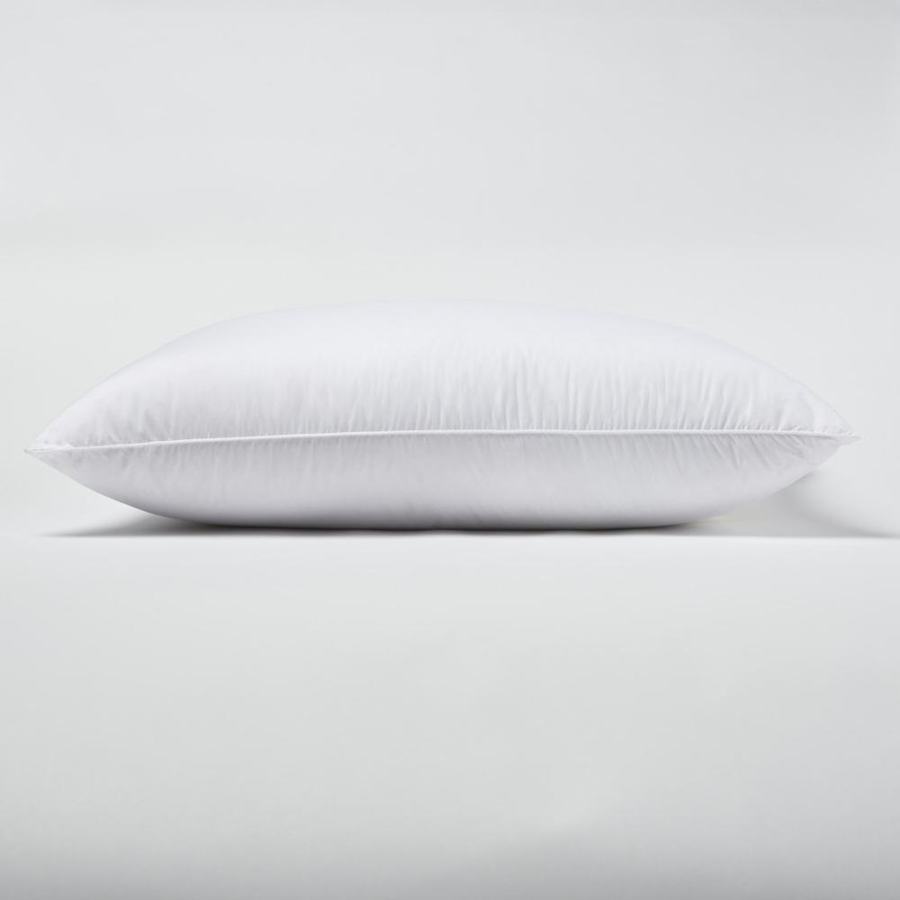 Premium Lux  Down Queen Size Medium Pillow - 387825. Picture 3