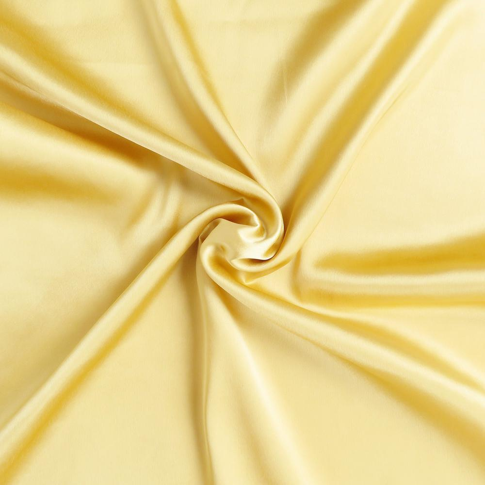 Gold Dreamy Set of 2 Silky Satin Standard Pillowcases - 387865. Picture 6