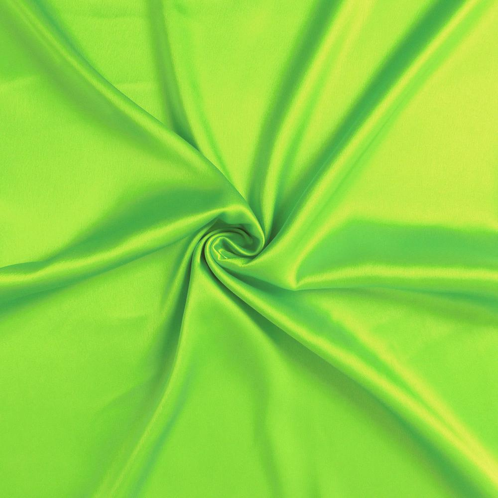 Bright Green Dreamy Set of 2 Silky Satin Standard Pillowcases - 387869. Picture 6