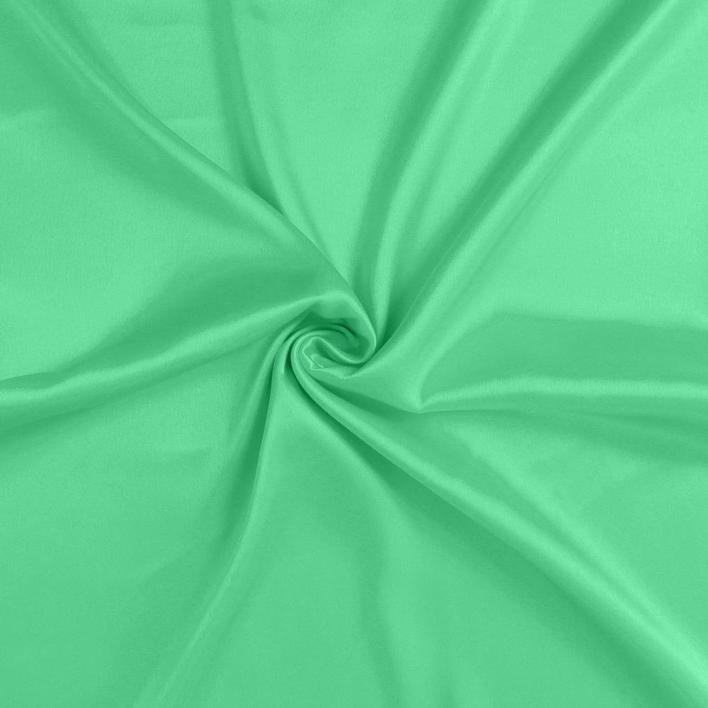 Green Dreamy Set of 2 Silky Satin Standard Pillowcases - 387875. Picture 6