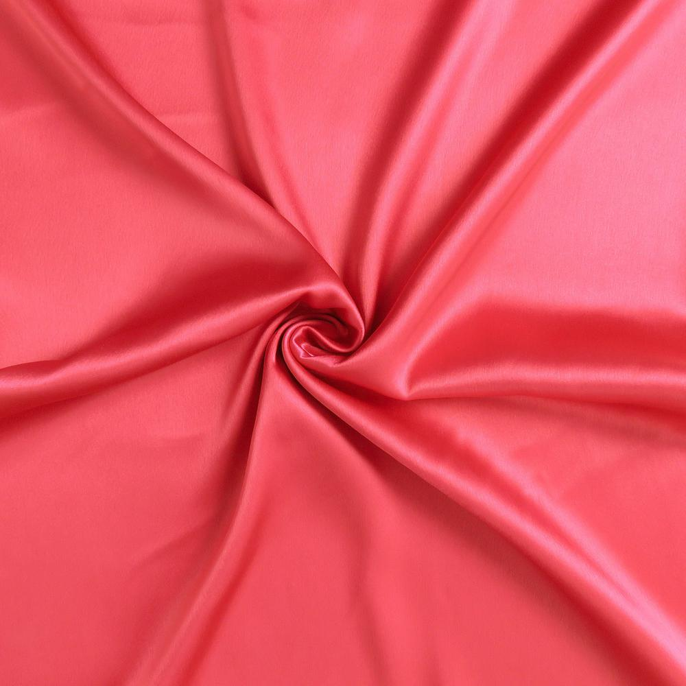 Poppy Red Dreamy Set of 2 Silky Satin Standard Pillowcases - 387877. Picture 6
