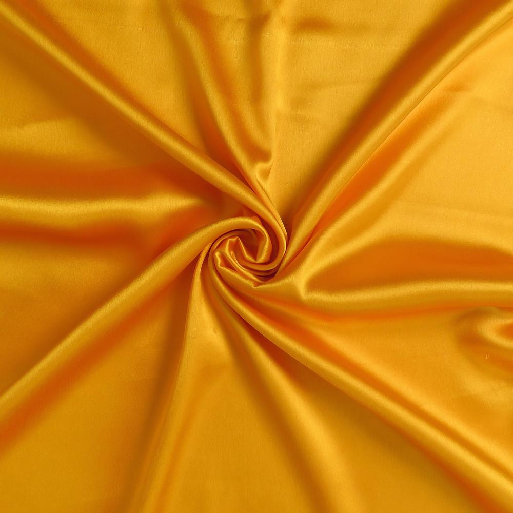 Goldenrod Dreamy Set of 2 Silky Satin Standard Pillowcases - 387885. Picture 6