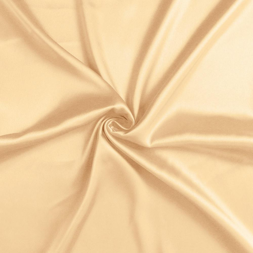 Pale Peach Dreamy Set of 2 Silky Satin Queen Pillowcases - 387902. Picture 6