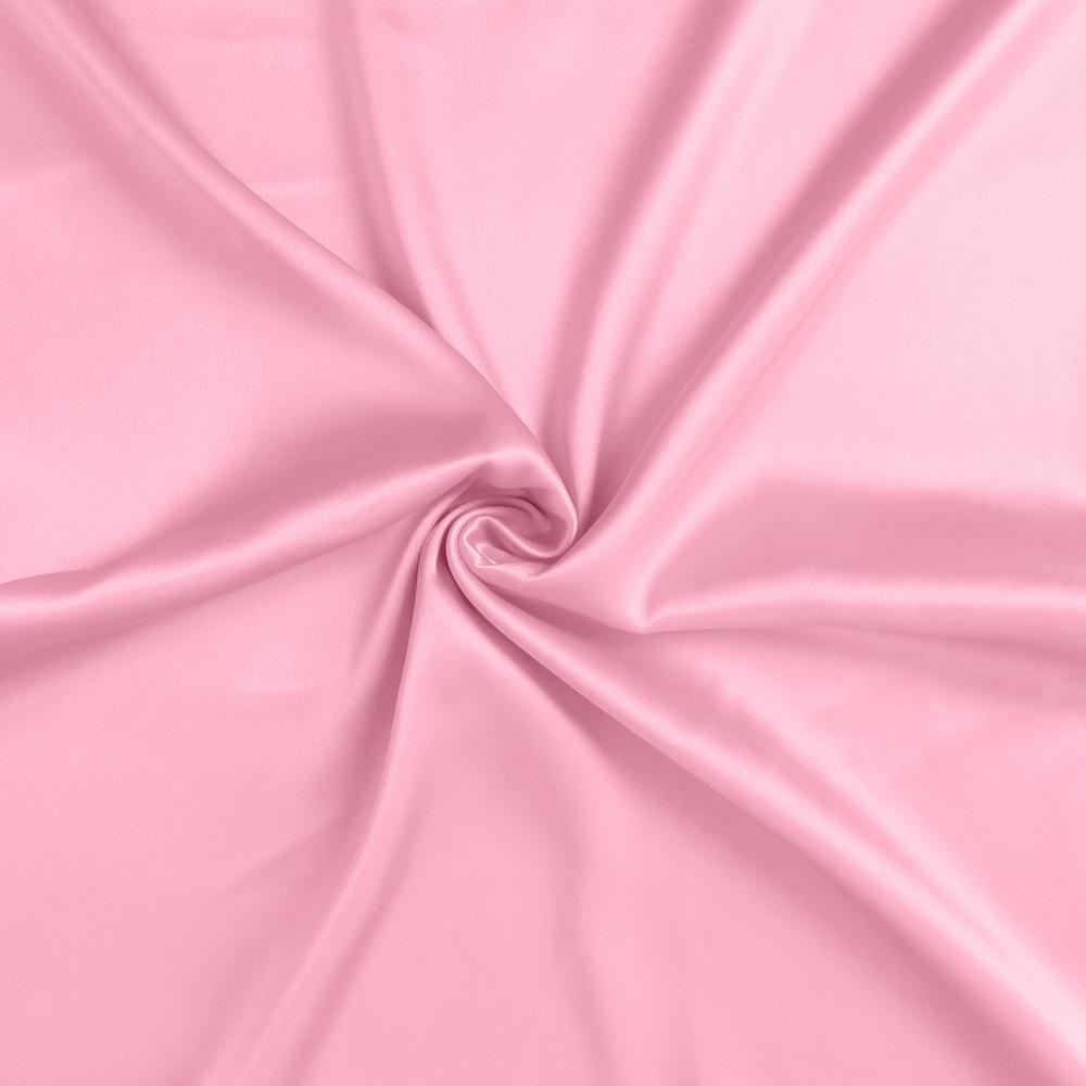 Pink Rose Dreamy Set of 2 Silky Satin Queen Pillowcases - 387903. Picture 6