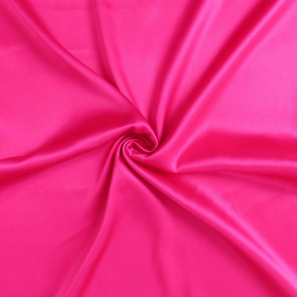 Fuchsia Dreamy Set of 2 Silky Satin Queen Pillowcases - 387905. Picture 6
