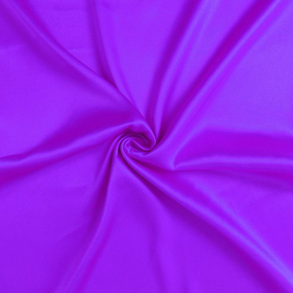 Bright Purple Dreamy Set of 2 Silky Satin Queen Pillowcases - 387907. Picture 6