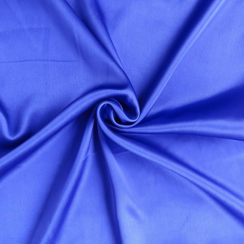 Royal Blue Dreamy Set of 2 Silky Satin Queen Pillowcases - 387908. Picture 6