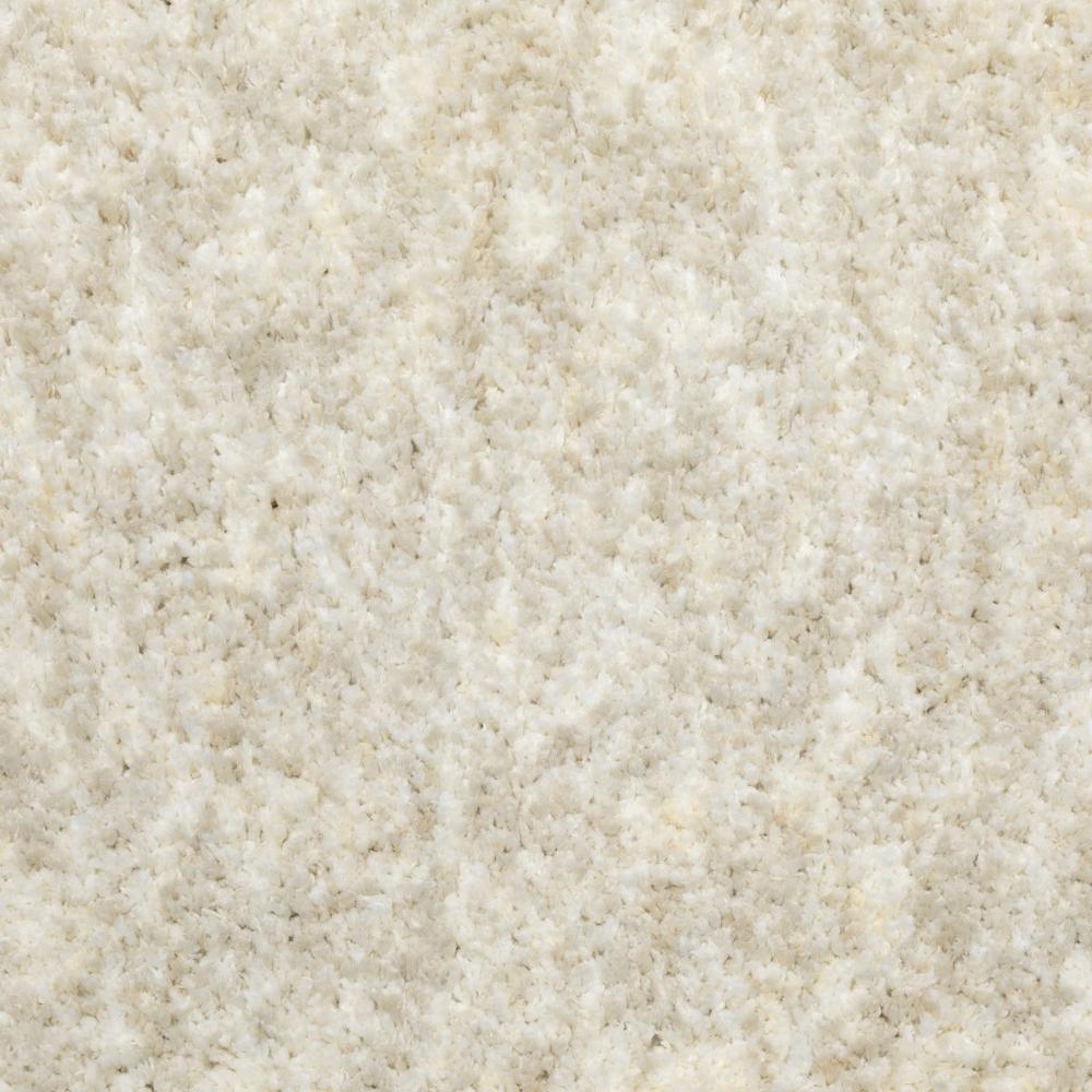 7' x 10' Modern Shag Ivory Indoor Area Rug - 387980. Picture 3