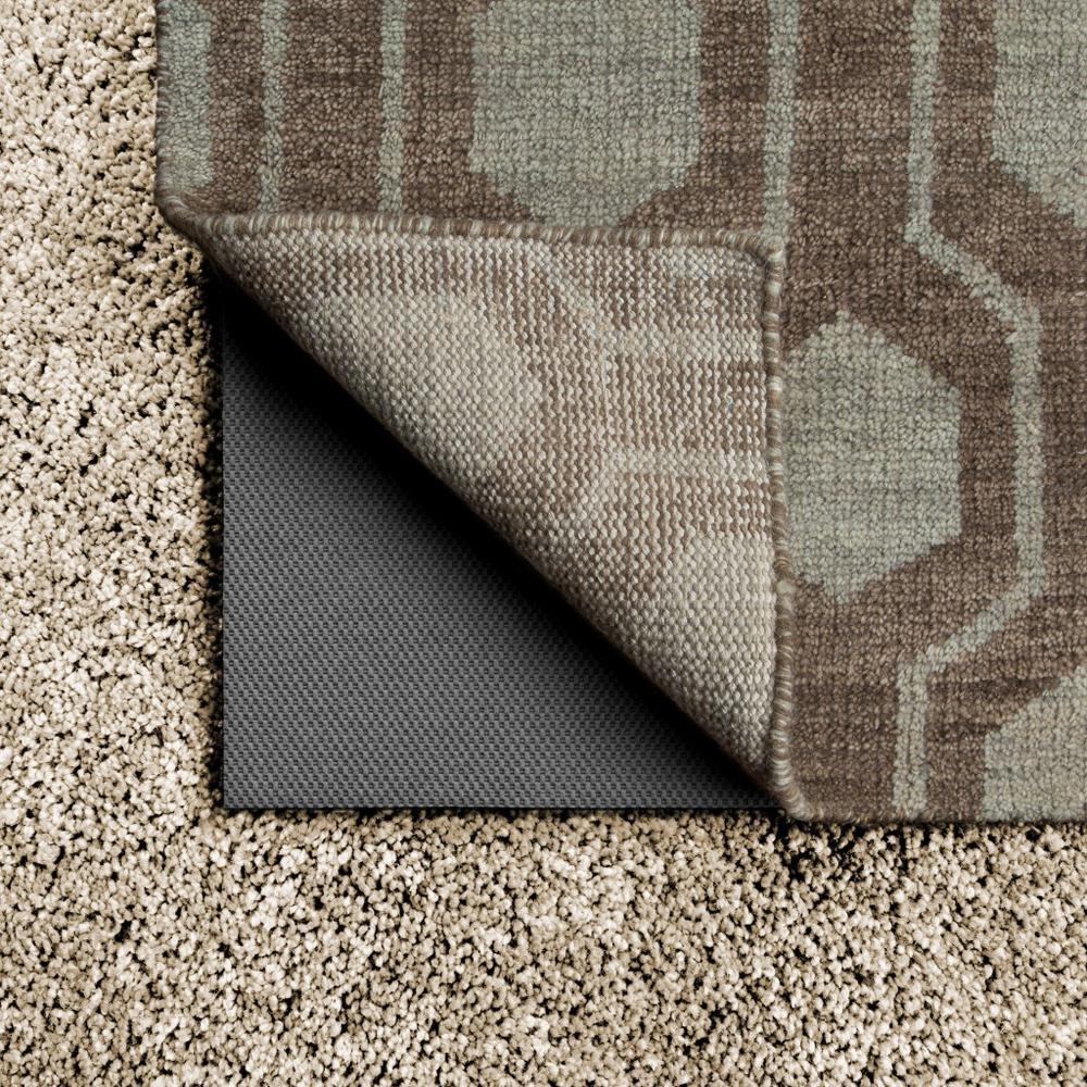 2' x 4' Grey Non Slip Rug Pad - 388110. Picture 3