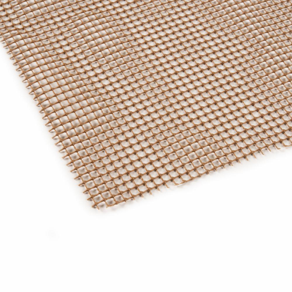 4' x 5' Brown Non Slip Outdoor Rug Pad - 388111. Picture 3