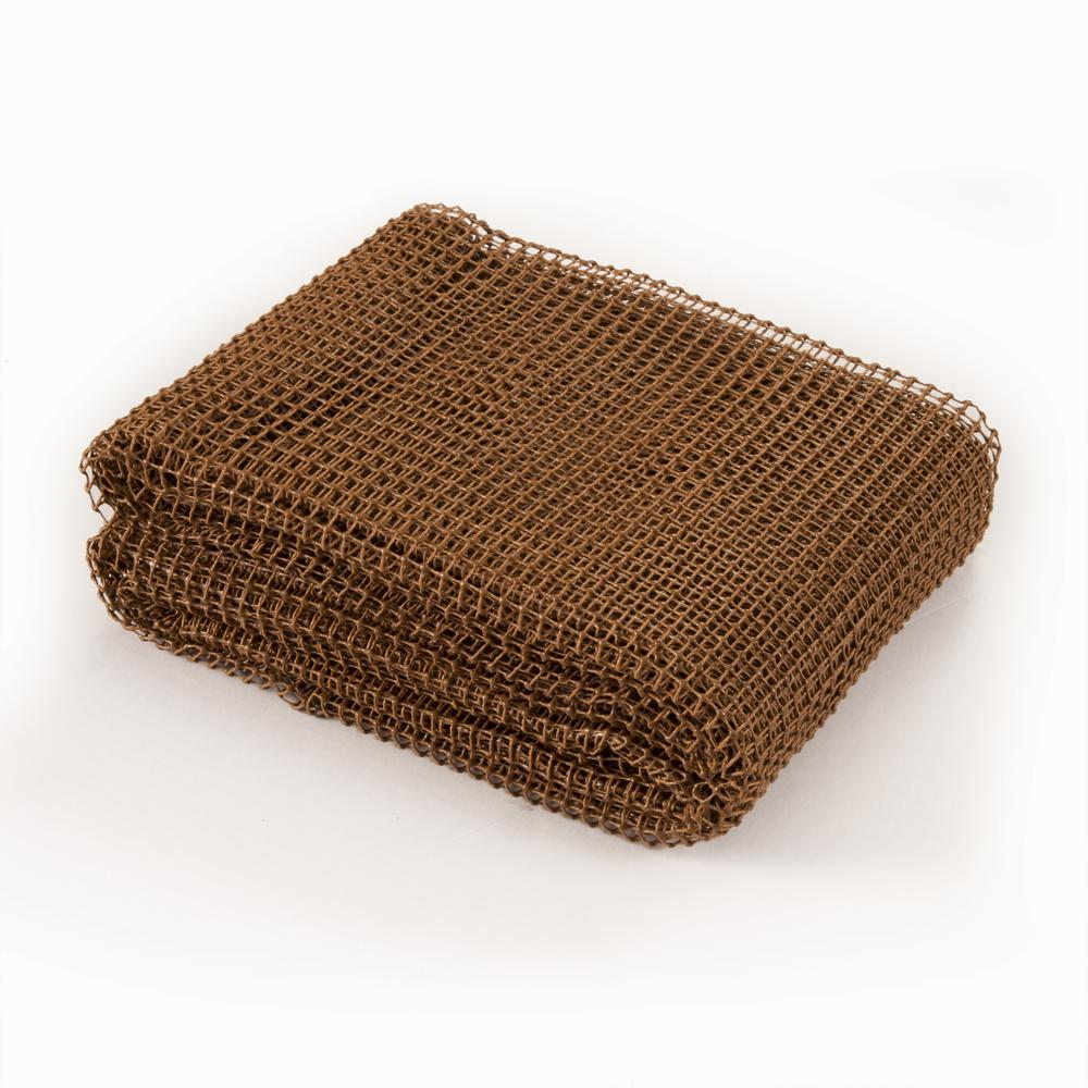 4' x 5' Brown Non Slip Outdoor Rug Pad - 388111. Picture 5