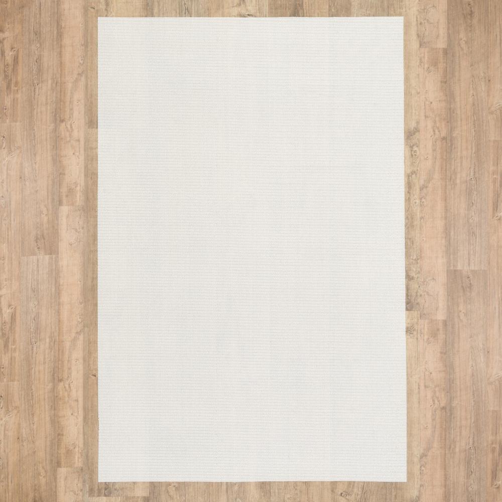 6' Round Basic  Beige Non Slip Rug Pad - 388113. Picture 3