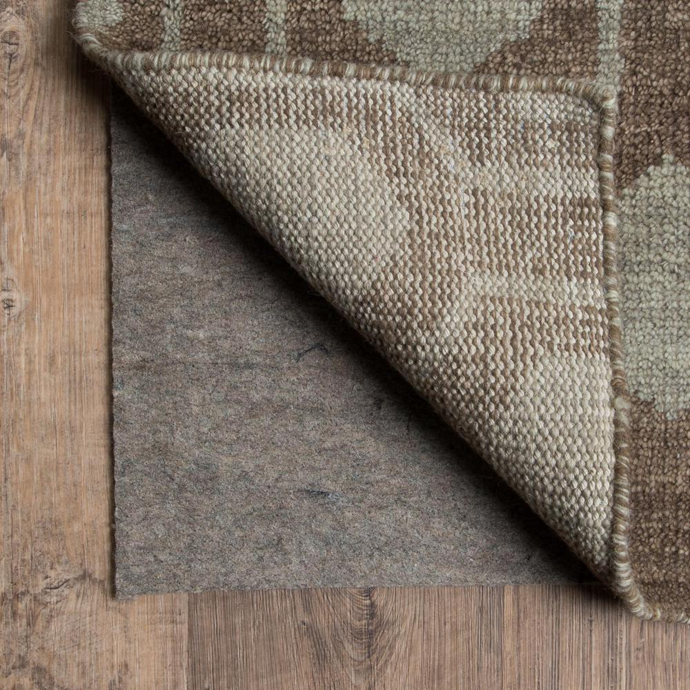 2' x 12' Grey Non Slip Runner Rug Pad - 388121. Picture 1