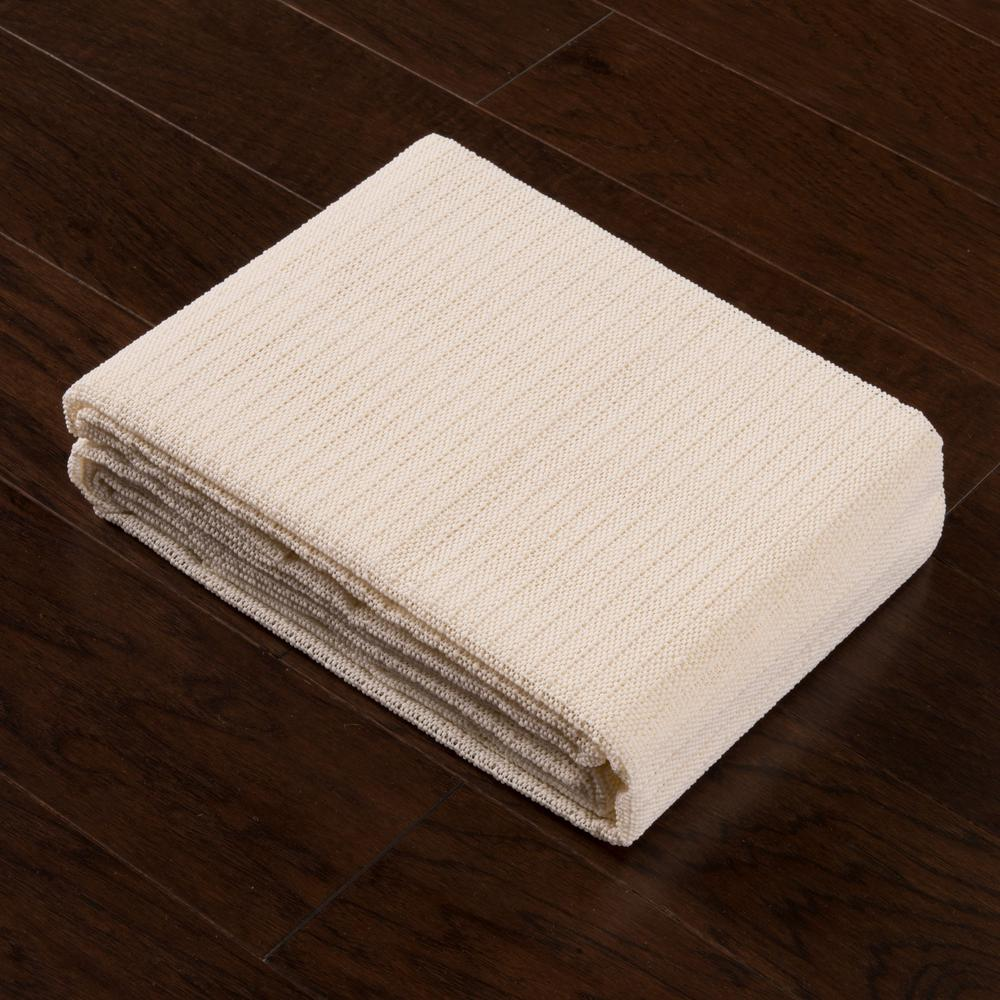 12' x 15' Standard Beige Non Slip Rug Pad - 388128. Picture 5