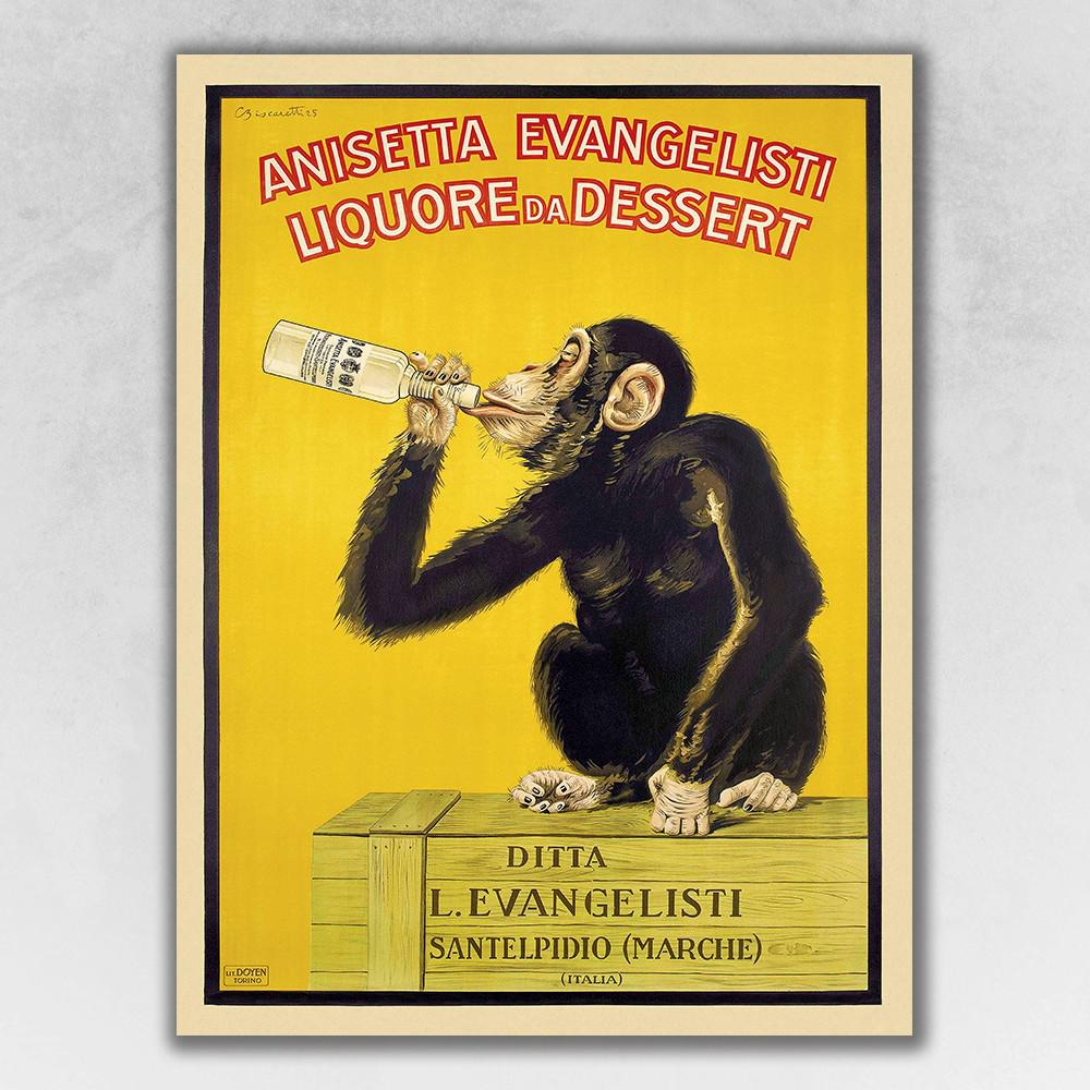 "11"" x 8.5"" Anisetta Evangelisti Italian Liquor Wall Art Print - 388268. Picture 1"