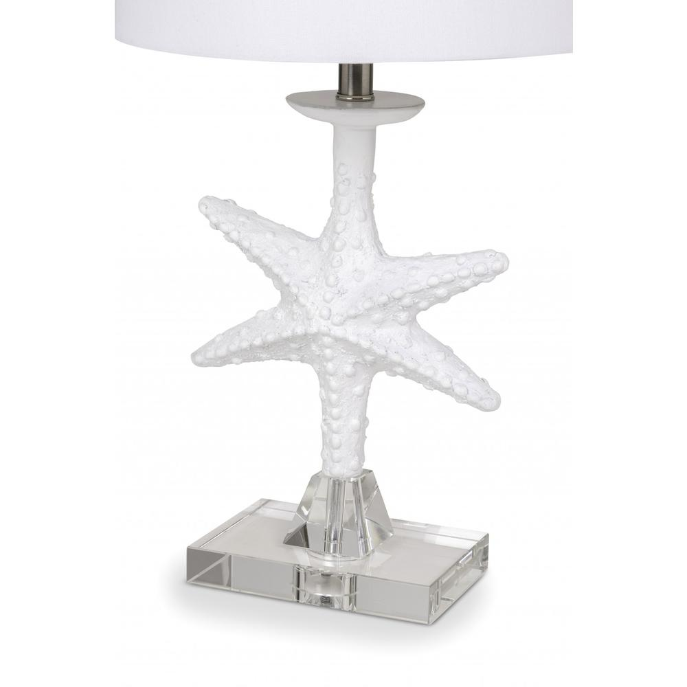 Set of 2 White Coastal Starfsh Table Lamps - 388552. Picture 3