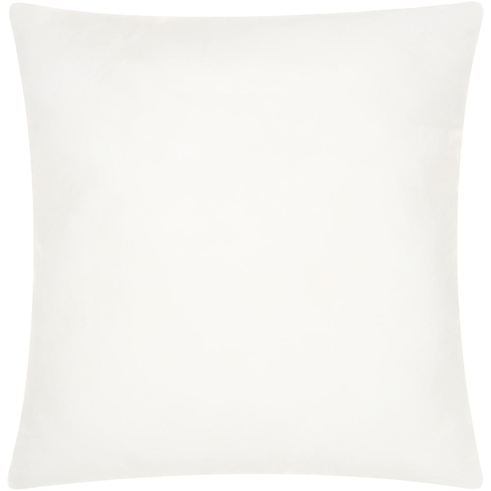 """14"""" x 14"""" Choice White Square Pillow Insert - 389582. Picture 1"""