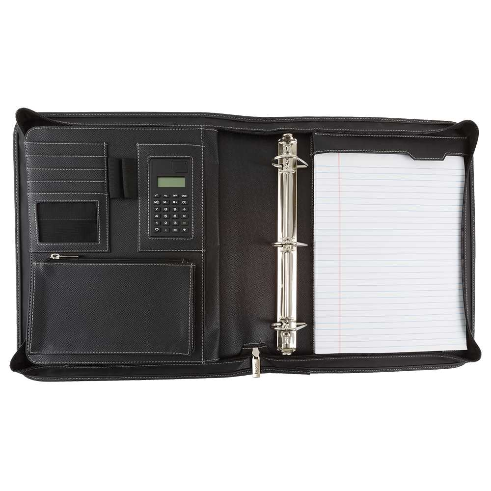 RING BINDER, 3 X 12 X 14, Black