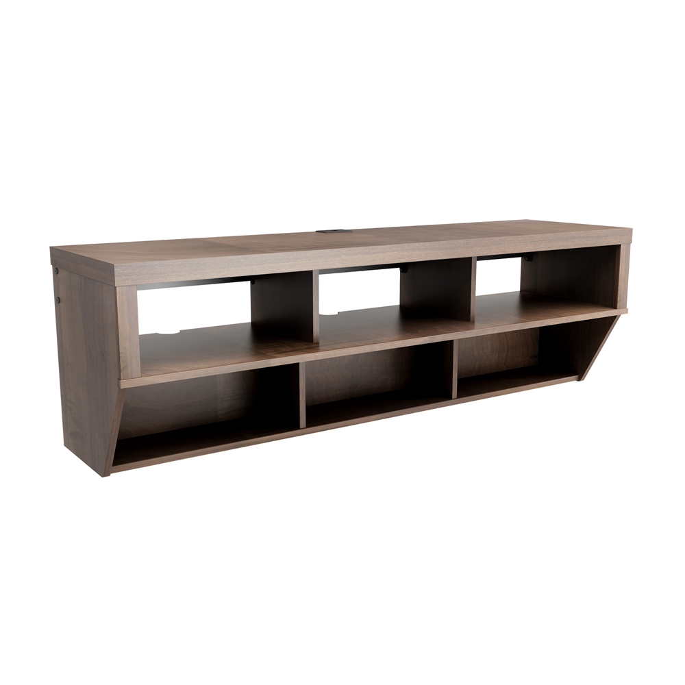 Espresso 58 Quot Wide Wall Mounted Av Console Series 9