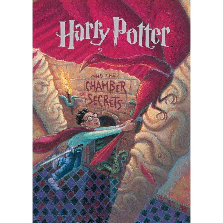 Harry Potter (Book Cover - Chamber of Secrets) MightyPrint™ Wall Art. Picture 1