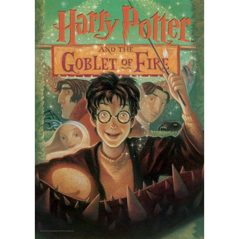 Harry Potter (Book Cover - Goblet of Fire) MightyPrint™ Wall Art. Picture 1