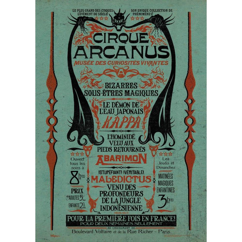Fantastic Beasts 2™ (Circus Arcanus) - Mightyprint™ Wall Art. Picture 2