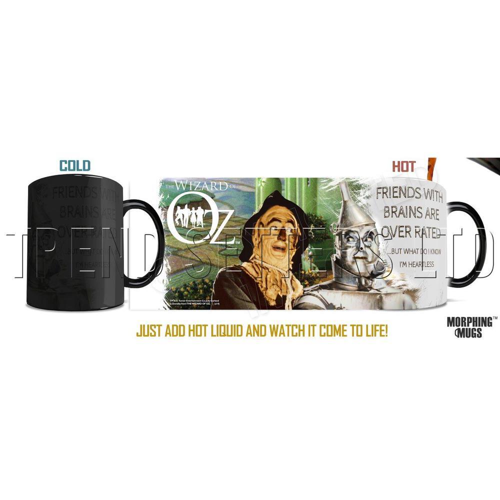 Wizard of Oz (Brainless) Morphing Mugs™ Heat-Sensitive Mug. Picture 1