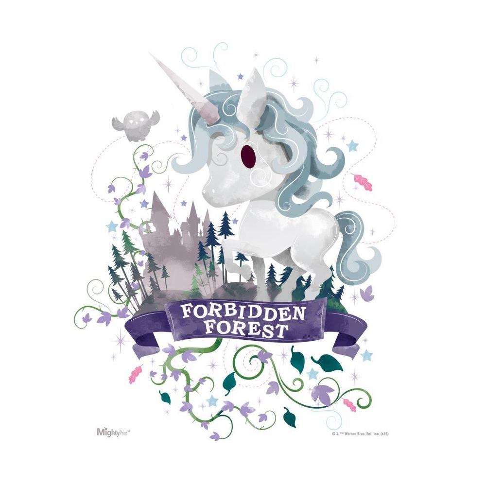 Harry Potter (Forbidden Forest Watercolor) MightyPrint™ Wall Art. Picture 1