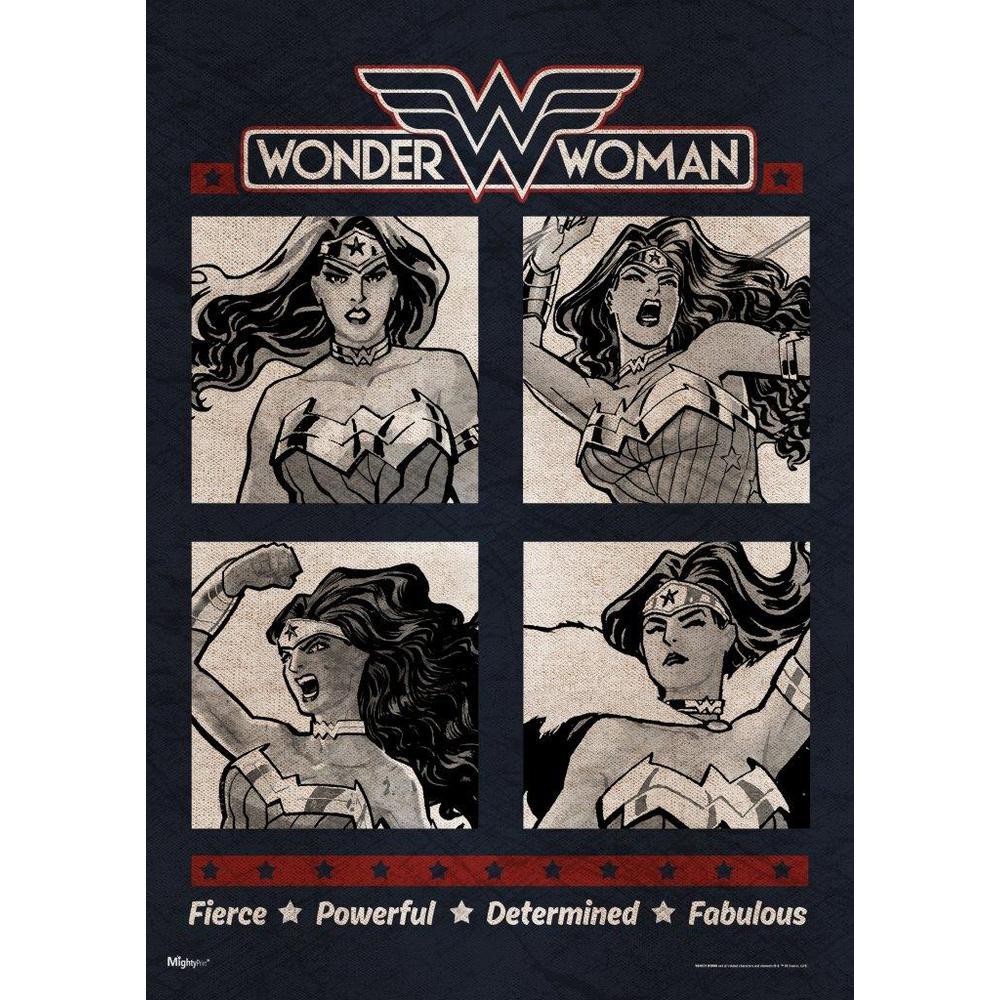 DC Comics Originals (Fabulous Wonder Woman) MightyPrint™ Wall Art. Picture 1