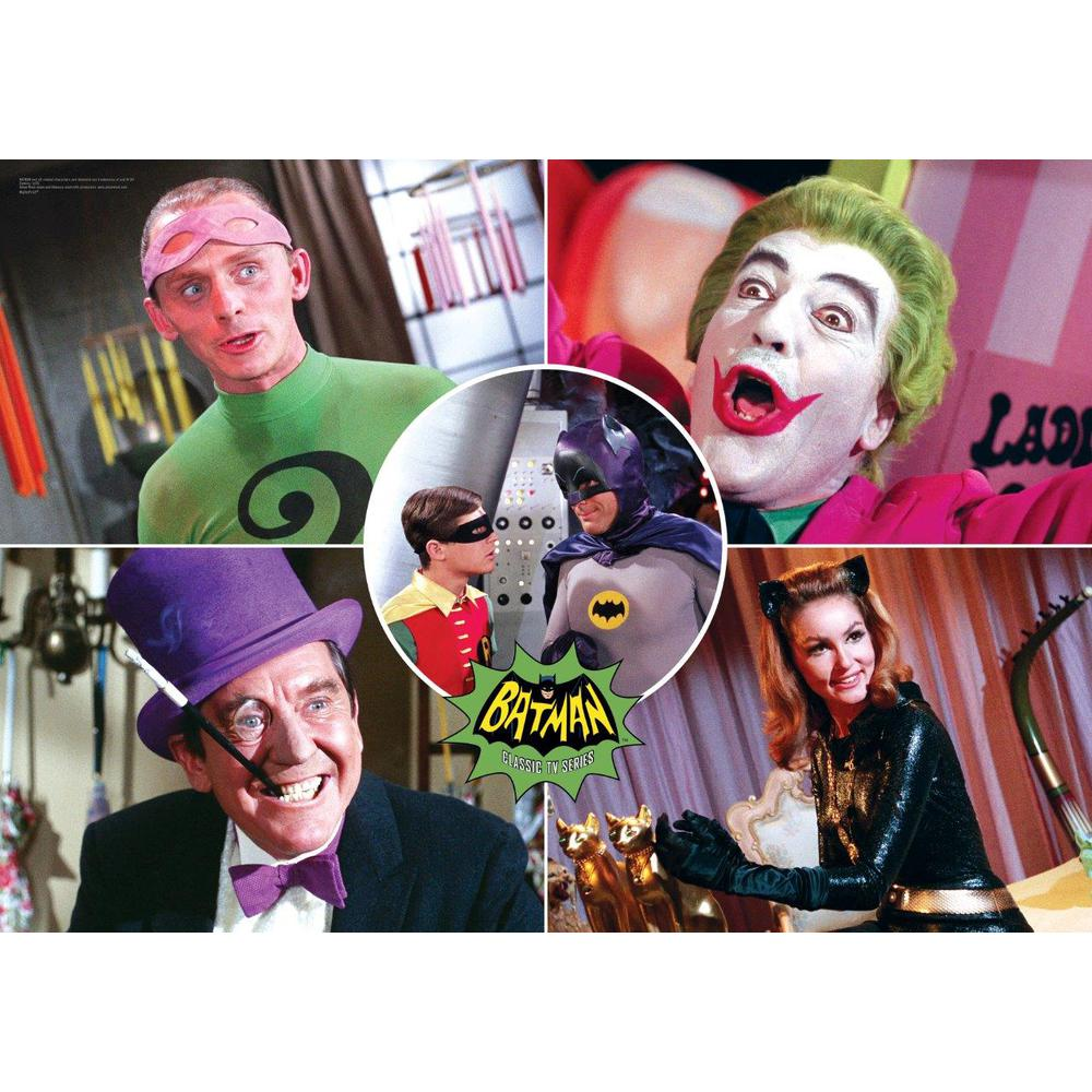 Batman Classic TV Series (The Rogues) MightyPrint™ Wall Art. Picture 1