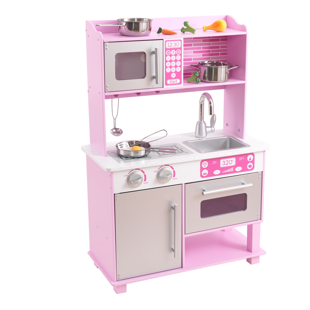 kidkraft pink toddler kitchen